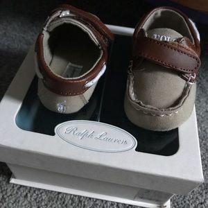 """Ralph Lauren Baby Boy """"Sander EZ Boat shoe"""""""